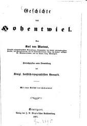Geschichte von Hohentwiel