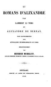 Li romans d'Alixandre