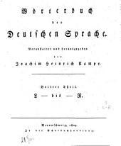 Wörterbuch der deutschen Sprache: L bis R. 3