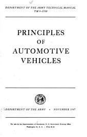 Principles of automotive vehicles