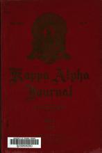 The Kappa Alpha Journal PDF