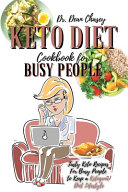 Keto Diet Cookbook For Busy People