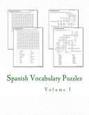 Spanish Vocabulary Puzzles Book PDF