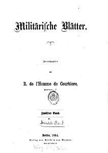Milit  rische Bl  tter PDF