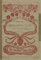 """Tolstoi's """"Resurrection.""""."""