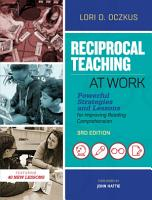 Reciprocal Teaching at Work  3rd Edition PDF