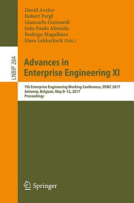Advances in Enterprise Engineering XI PDF