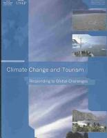 Climate Change and Tourism PDF