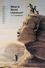 What Is World Literature  PDF
