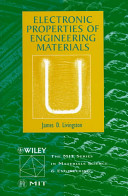 Electronic Properties of Engineering Materials PDF