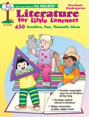 Literature for Little Learners PDF