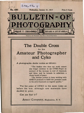 Bulletin of Photography: Volume 20, Issue 495