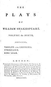 Troilus and Cressida. Cymbeline. King Lear