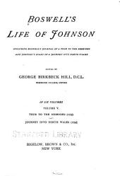 Boswell's Life of Johnson: including Boswell's Journal of a tour of the Hebrides, and Johnson's diary of A journey into North Wales, Volume 5