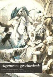 Algemeene geschiedenis: Volumes 3-4