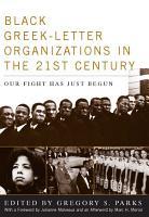 Black Greek letter Organizations in the Twenty First Century PDF