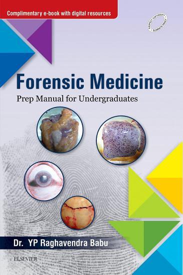 Forensic Medicine  Prep Manual for Undergraduates   E Book PDF