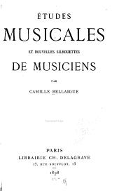 Études musicales et nouvelles silhouettes de musiciens