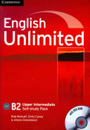 English Unlimited Upper Intermediate Self study Pack  Workbook with DVD ROM  PDF