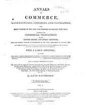 Annals of Commerce  Manufactures  Fisheries  and Navigation with Brief Notices of the Arts and Sciences Connected with Them PDF