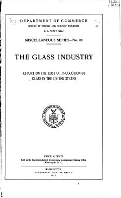 The Glass Industry PDF