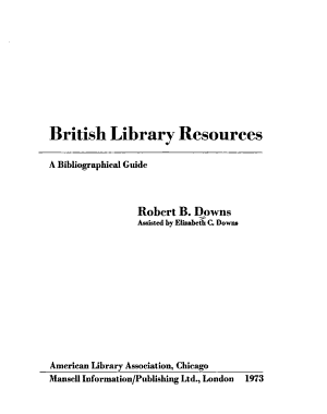 British Library Resources