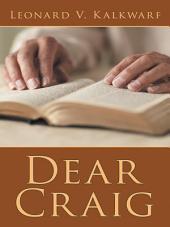 Dear Craig
