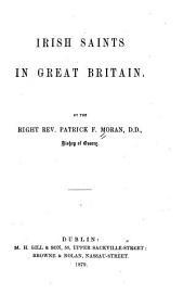 Irish Saints in Great Britain
