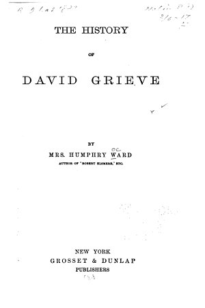 The History of David Grieve PDF