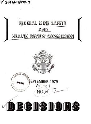 Decisions   Federal Mine Safety and Health Review Commission PDF