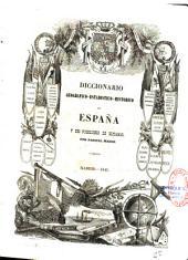 Diccionario geográfico-estadístico-histórico de España y sus posesiones de Ultramar: por Pascual Madoz