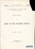 Report of the Chief of the Weather Bureau PDF