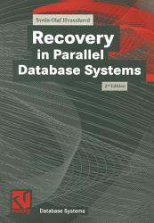 Recovery in Parallel Database Systems PDF