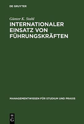 Internationaler Einsatz von F  hrungskr  ften PDF