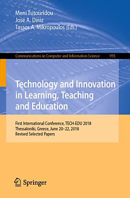 Technology and Innovation in Learning  Teaching and Education