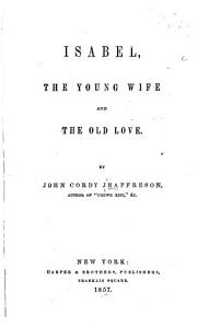 Isabel  the Young Wife and the Old Love PDF