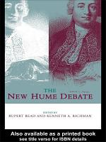 The New Hume Debate