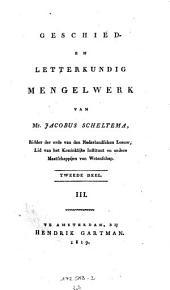 Geschieden Letterkundig Mengelwerk