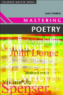 Mastering Poetry PDF
