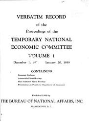 Verbatim Record Of The Proceedings Book PDF