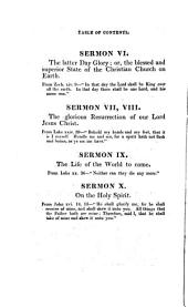 Sermons upon the following subjects: viz. the unrivalled excellency of the sacred Scriptures, the divine influences of the Holy Spirit [&c. 8pt.].