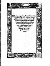 De natura locorum Liber