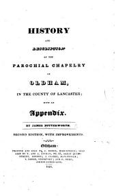 History and Description of the Parochial Chapelry of Oldham