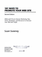 101 Ways to Promote Your Web Site PDF