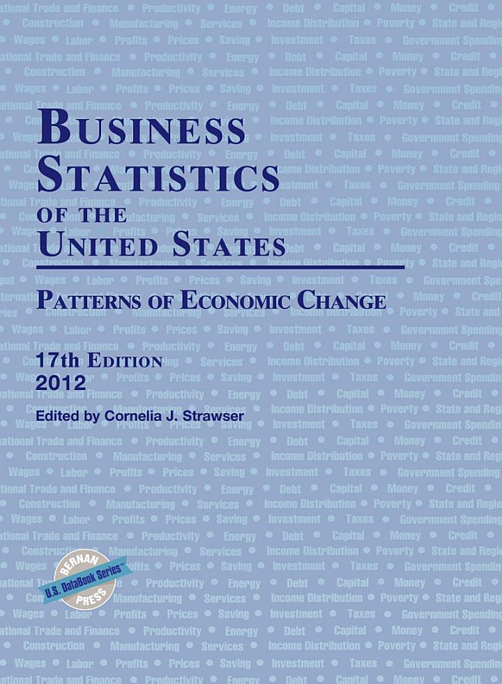 Business Statistics of the United States 2012