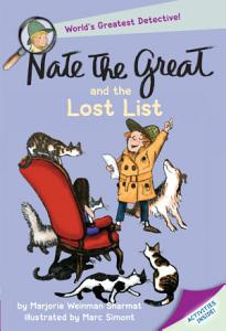 Nate the Great and the Lost List Book