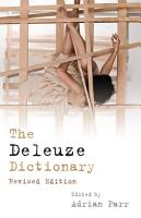 Deleuze Dictionary Revised Edition PDF