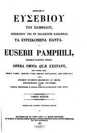 Patrologiæ cursus completus: seu, Bibliotheca universalis, integra, uniformis, commoda, oeconomica omnium SS. patrum, doctorum, scriptorumque ecclesiasticorum. Series græca, Volume 24