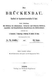 Handbuch der Ingenieurwissenschaften in vier Bänden