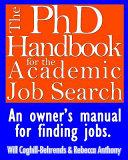 The PhD Handbook for the Academic Job Search